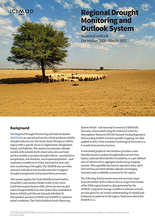 Regional Drought Monitoring and Outlook system seasonal outlook December 2020–March 2021