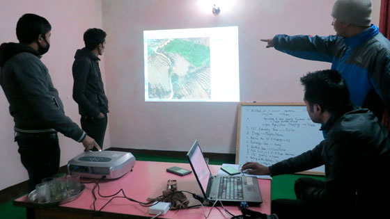 Crowd sourcing for agriculture, food security and brick kiln data
