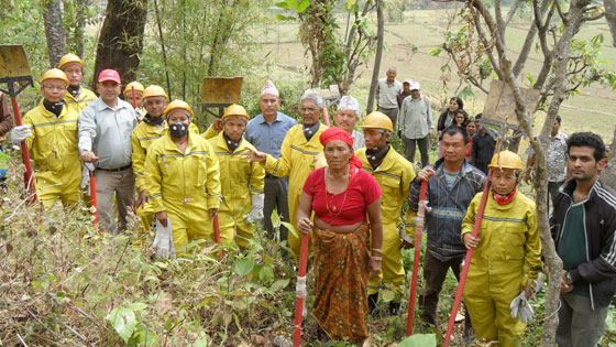 Enhancing community preparedness in forest fire management in Nepal